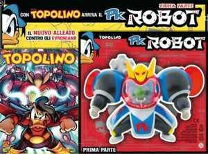 Supertopolino N° 3437 + PK Robot - Disney Panini Comics - ITALIANO NUOVO