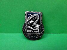 Chernushka Dog-Astronaut 4th USSR Russian Spacecraft, USSR Mail Pin Badge.