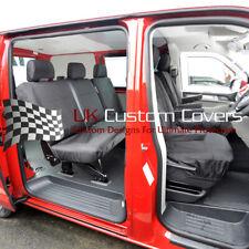 VW T5 T6 TRANSPORTER KOMBI 5 SEATER SET OF SEAT COVERS - (2003 ON) 104 212 213