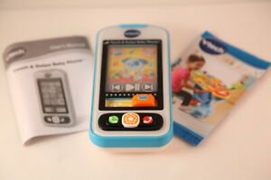 Toy Phone VTech Touch and Swipe Baby Phone, Blue OPEN BOX #T19