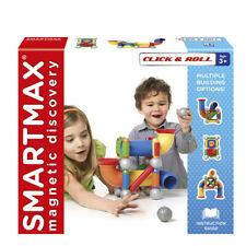 SmartMax SMX 404 Click & Roll Riesenmagnet-Set Magnetspiel Baukasten
