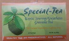 Special-Tea Exotic Soursop/Guyabano Graviola Tea (20 tea bags)