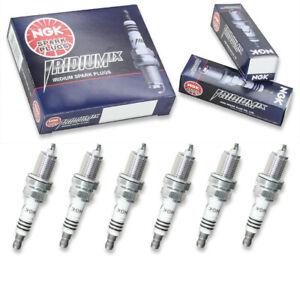 6 pcs NGK Iridium IX Spark Plugs for 1995-2002 Honda Accord 3.0L 2.7L V6 - wf