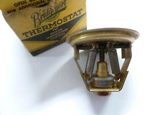 NOS 1954 1955 1956 CHEVROLET HUDSON OLDS STUDE THERMOSTAT 160 DEG, FULTON NIB