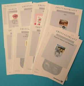 Bundesrepublik Bund ETB kompl. Jahrgang 2012 komplett mit allen Sonderblättern