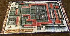 Dungeons and Dragons D&D Zanzer's Dungeon Grid Map 1993 Please Read