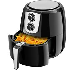 1800W 5.5 Quart Oil Free Electric Air Fryer Cooker w/ Hot Air Circulation System