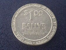"$1 SLOT / GAMING TOKEN -- BALLY'S PARK PLACE CASINO -- ATLANTIC CITY  ""OBSOLETE"""