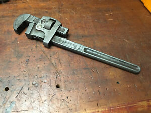 """Vintage Walworth pipe wrench/Stillson No 14"""" Made in USA Plumbers Tools"""