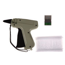"Clothes Garment Price Label Tagging Tag Gun 3"" 1000 Barbs + 5 Needles Set Tools"