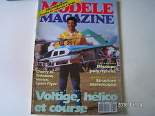 **b Modèle Magazine n°484 Plan encarté planeur Backflying / Rainbow de Mantua