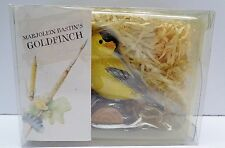 Hallmark Marjolein Bastin Natures Sketchbook Birds at My Window Goldfinch box