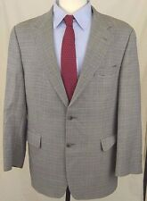 Brooks Brothers 346 Men 42S Blazer Tan/Black Silk Wool Houndstooth Sport Jacket
