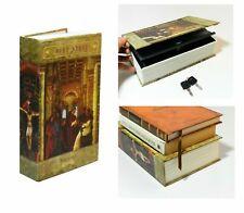 Hidden Bible Book Safe Lock Secret Security Money Wall Bookcase Hidden NEW