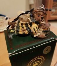 Boyds Bear Sunny Buzzby Bee Bearstone Ornament,with box - 5E/ 693