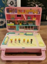 Vintage Polly Pocket Disco Cassette Bowling Alley All Original Dolls Working
