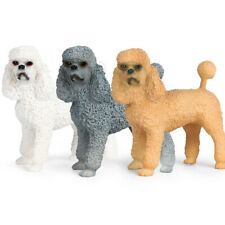 Poodle Figure Realistic Model Animal Pet Dog Toys Collector Decor Kids Gift