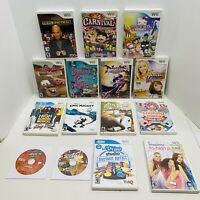 15 Games Wii Lot-Deal Or No Deal,Nights Journey Of Dreams,Carnival&-Nintendo Wii