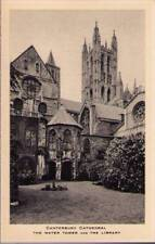 (yqr) Canterbury Cathedral: The Water Tower and The Library