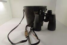 Vintage Carl Zeiss 15 x 60 Military Binoculars Made in Germany  619071 & Case