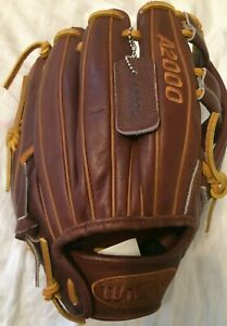 "RHT wilson A2000 baseball glove WTA20RB20DP15GM 11.75"" PRO STOCK DP15 GM"
