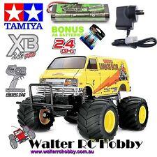 TAMIYA LUNCH BOX Ready to Run 57749 with 2400mah NIMH Battery & Wall Charger+4AA