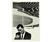 TWILIGHT ZONE Poster, Rod Serling, Black and White Poster , MidCentury Modern