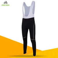 Women Cycling Long Sleeve Bibs Pants Bicycle Bib Tights Trousers Bike Sportswear