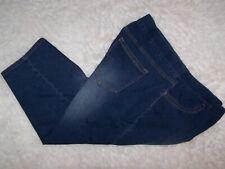 Lei Womens Capri Blue Denim Jeans Plus Size Jeans 3X Stretch Waist Great Stretch
