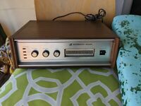 AUTOMATIC RADIO AR COMPONENT 8-TRACK PLAYER ANTENNA WOOD CASE VTG HGE 6779A RARE