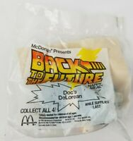 Back to the Future McDonalds Happy Meal Toy Doc's DeLorean Factory Sealed 1991