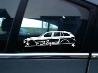 F31 squad sticker aufkleber - for BMW 3-er Touring | 318d 320i 320d 335i 316i