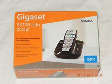 SIEMENS Gigaset SX100 ISDN Basis + Mobilteil S1 colour im OVP, MUSTERSTÜCK