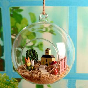 Heißes Glaskugel Glas Teelichthalter Aufhängen Hängend Kerzenhalter