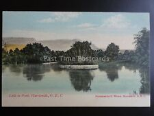 South Africa HARRISMITH O.R.C. LAKE IN THE PARK c1909 old Postcard by F. Wilson