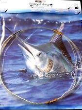 windon leader 5 x 80 lb wind-on leaders wind on leader tuna marlin kingfish 6