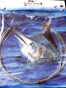 wind-on leader 5 x 80lb wind on leaders Mono line Game fishing tuna kingfish