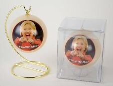 Hillary Clinton #ImWithHer Photo Ornament - Red