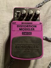 behringer distortion pedal Dm 100