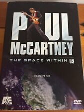 "Paul McCartney DVD "" The Space Between Us"" A Concert Movie"
