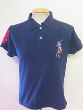 "Genuine Ralph Lauren men's Blue Polo Shirt Size S 34-36"" Euro 44-46 Custom Fit"