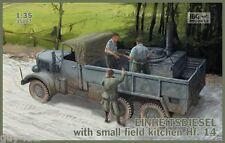 Camion Allemand EINHEITSDIESEL, WW2  - KIT IBG Models 1/35 n° 35007