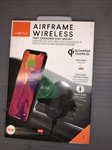 KENU Airframe Wireless Fast Charging Vent Mount Qi Certified AFW-KK-NA