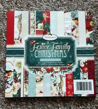 Hunkydory - A Festive Christmas Paper Pad 8x8 - 48 double sided sheets