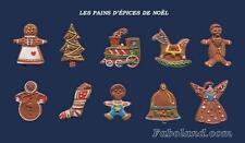 Feves Rares  LES PAINS D'ÉPICES DE NOËL    FB2013  DV2048