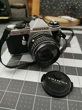 Pentax ME Super 35mm SLR Film Camera with smc 50 mm f 1.4 lens