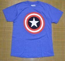 Marvel Men Captain America Shield Blue sz MED Avengers Infinity Wars Iron Man