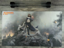 Magic the Gathering Custom Playmat Liliana TCG CCG Mat  Free Best Tube