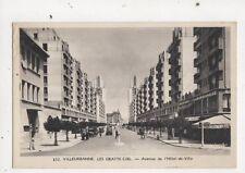 Villeurbanne Les Gratte Ciel Avenue de l'Hotel de Ville Postcard France 612a