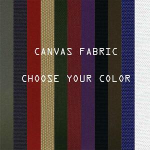 Marine Waterproof Canvas Fabric 600 Denier Blocks Heat and Reduce Glare 24color